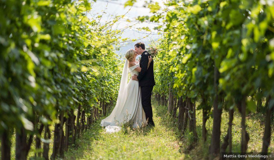Il matrimonio di Carl e Lina a Barga, Lucca