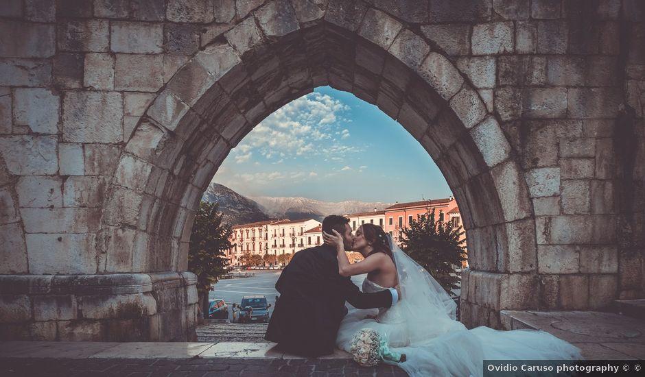 Il matrimonio di Alessandro e Francesca a Sulmona, L'Aquila