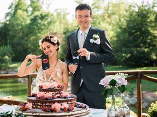 Le nozze di Anxhela e Alessandro