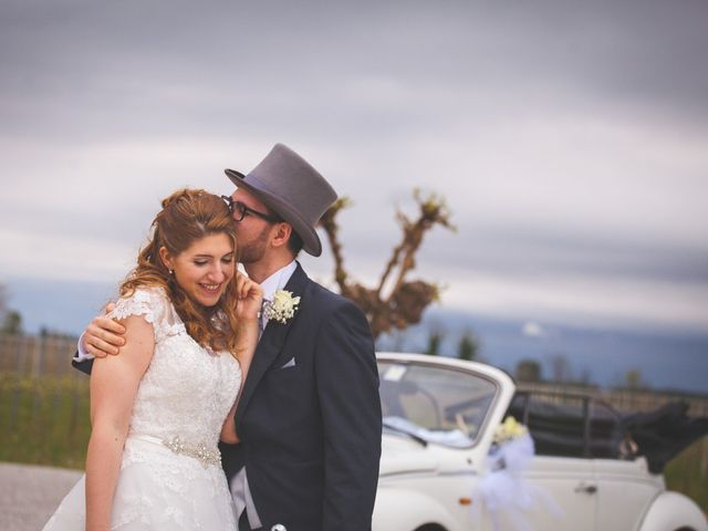 le nozze di Giulia e Christopher