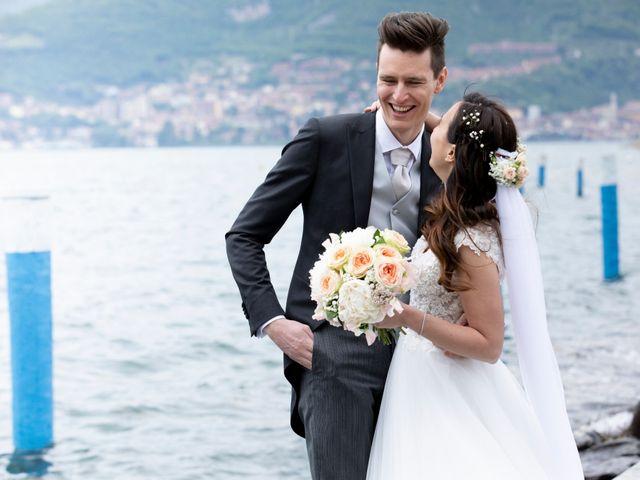 Il matrimonio di Andrea e Silvia a Iseo, Brescia 17