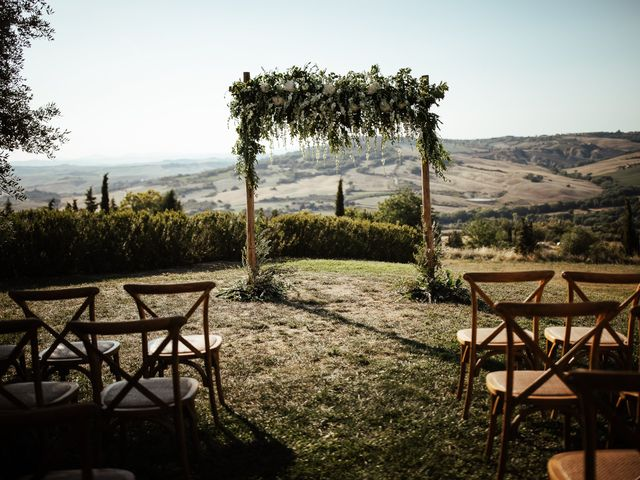 Il matrimonio di Pierpaolo e Mairin a Pienza, Siena 12