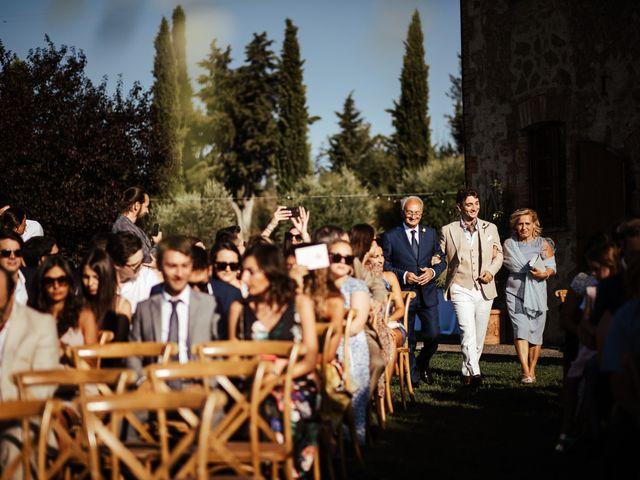 Il matrimonio di Pierpaolo e Mairin a Pienza, Siena 16