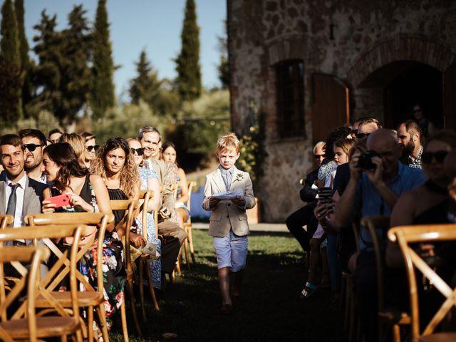 Il matrimonio di Pierpaolo e Mairin a Pienza, Siena 17