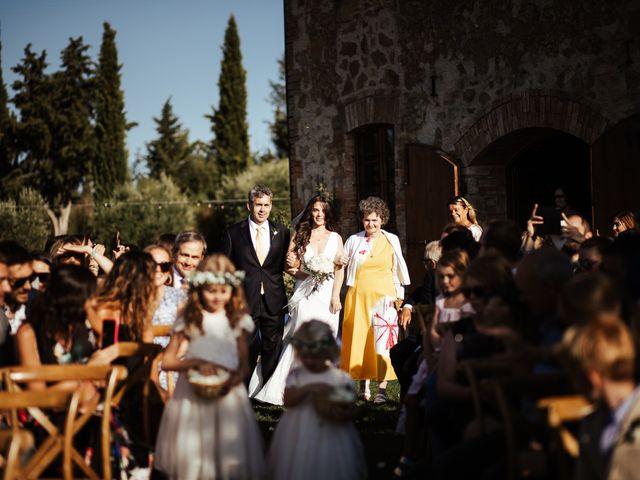 Il matrimonio di Pierpaolo e Mairin a Pienza, Siena 19