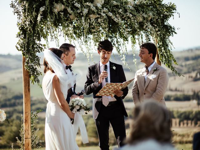 Il matrimonio di Pierpaolo e Mairin a Pienza, Siena 22