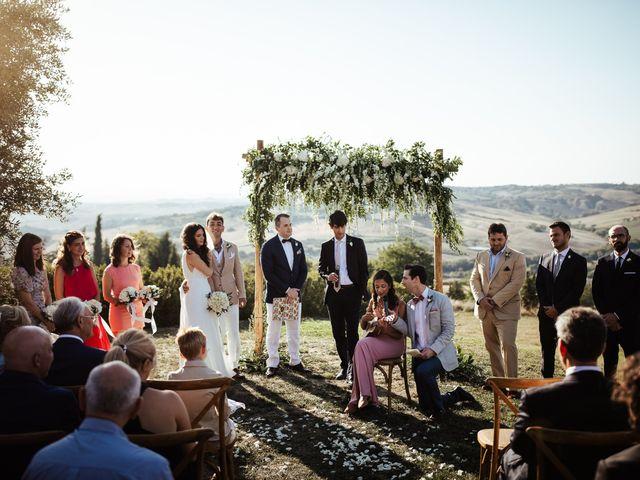 Il matrimonio di Pierpaolo e Mairin a Pienza, Siena 24