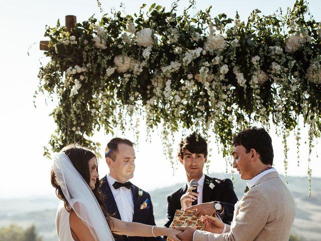 Il matrimonio di Pierpaolo e Mairin a Pienza, Siena 29