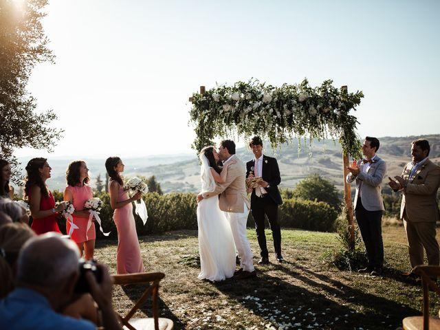 Il matrimonio di Pierpaolo e Mairin a Pienza, Siena 30