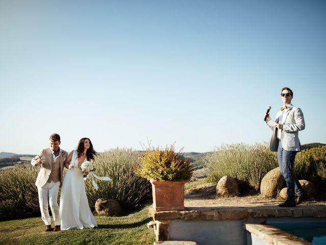 Il matrimonio di Pierpaolo e Mairin a Pienza, Siena 39