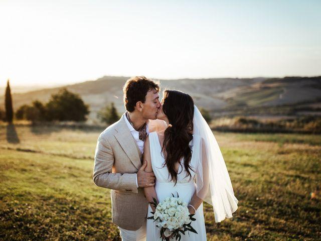 Il matrimonio di Pierpaolo e Mairin a Pienza, Siena 43