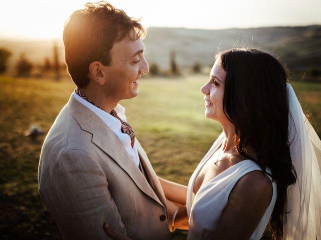 Il matrimonio di Pierpaolo e Mairin a Pienza, Siena 47