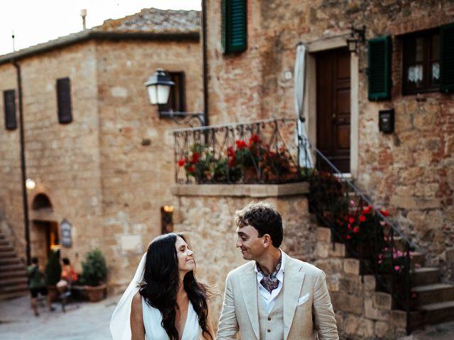 Il matrimonio di Pierpaolo e Mairin a Pienza, Siena 55