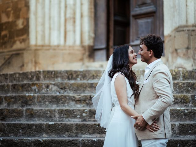 Il matrimonio di Pierpaolo e Mairin a Pienza, Siena 56