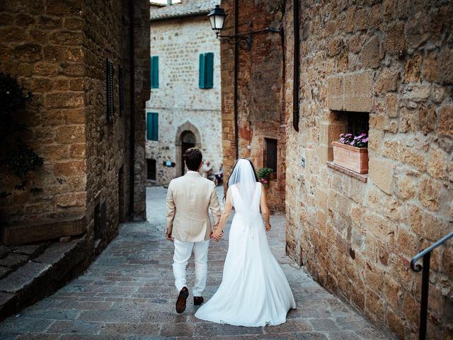 Il matrimonio di Pierpaolo e Mairin a Pienza, Siena 57