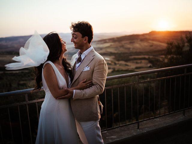 Il matrimonio di Pierpaolo e Mairin a Pienza, Siena 58