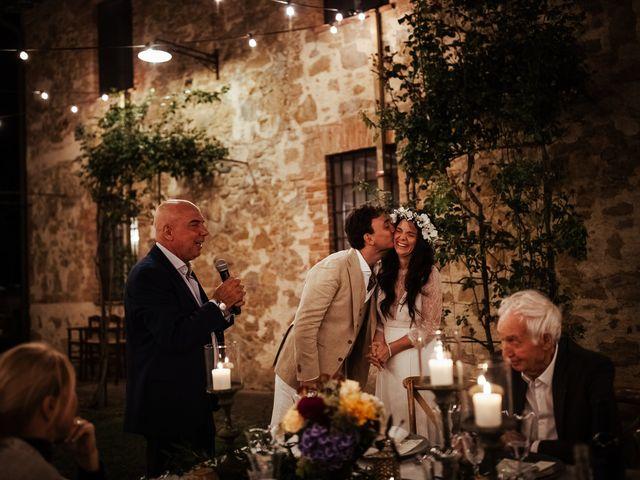 Il matrimonio di Pierpaolo e Mairin a Pienza, Siena 77