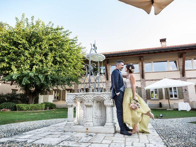 Il matrimonio di Sergio e Vania a Verdello, Bergamo 73