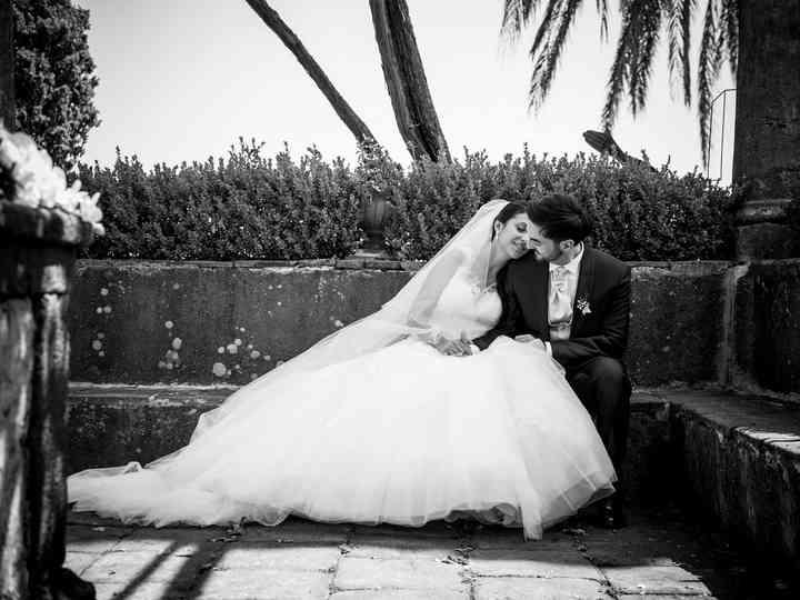 le nozze di Maria Grazia e Alessandro