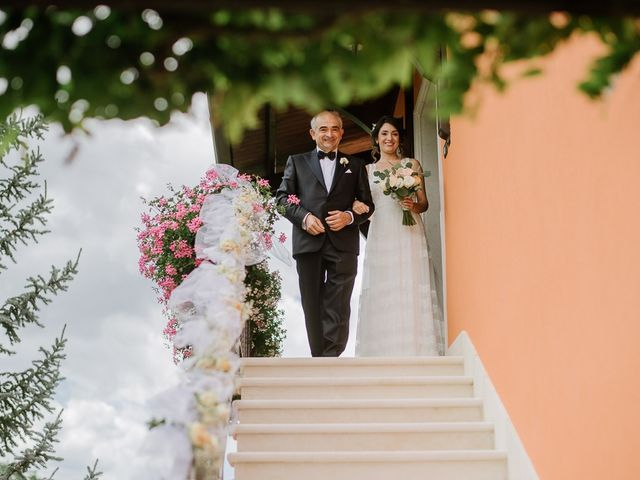 Il matrimonio di Emanuele e Antonella a Matera, Matera 15