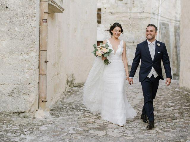 Il matrimonio di Emanuele e Antonella a Matera, Matera 37