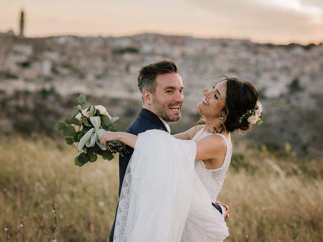 Il matrimonio di Emanuele e Antonella a Matera, Matera 47