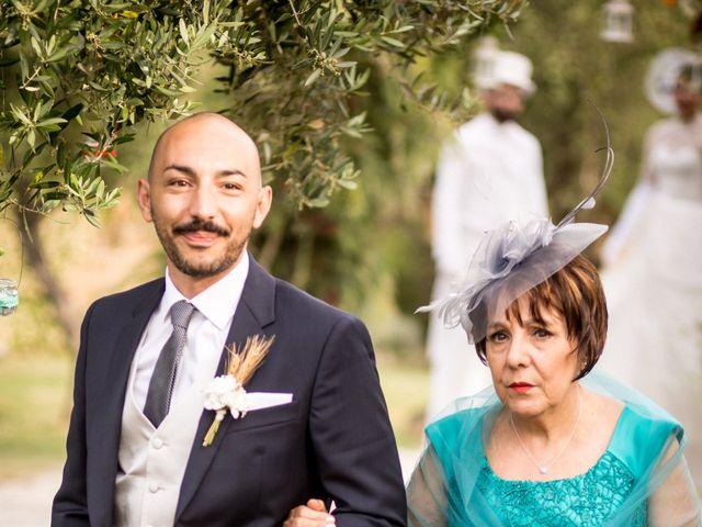 Il matrimonio di Daniele e Louise a Amelia, Terni 56