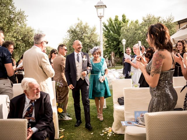 Il matrimonio di Daniele e Louise a Amelia, Terni 63