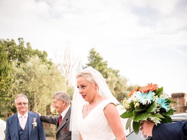 Il matrimonio di Daniele e Louise a Amelia, Terni 70