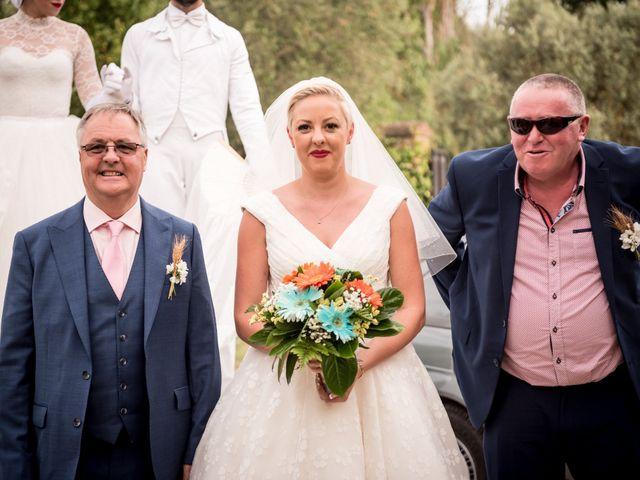 Il matrimonio di Daniele e Louise a Amelia, Terni 74