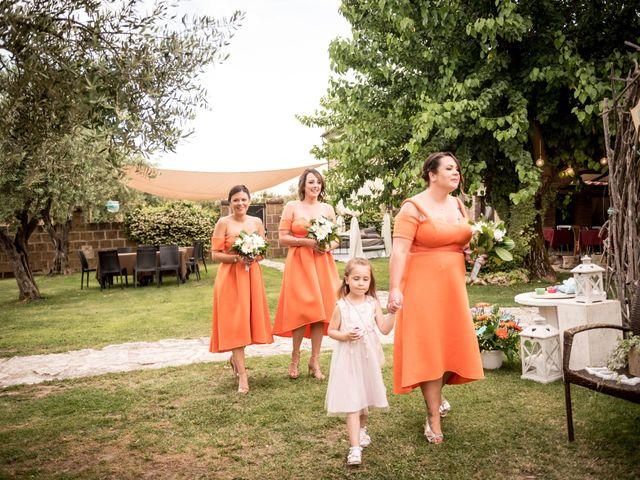 Il matrimonio di Daniele e Louise a Amelia, Terni 75
