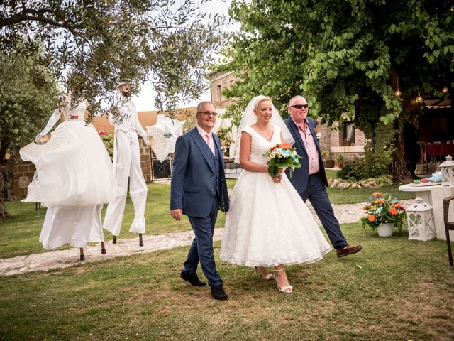 Il matrimonio di Daniele e Louise a Amelia, Terni 76