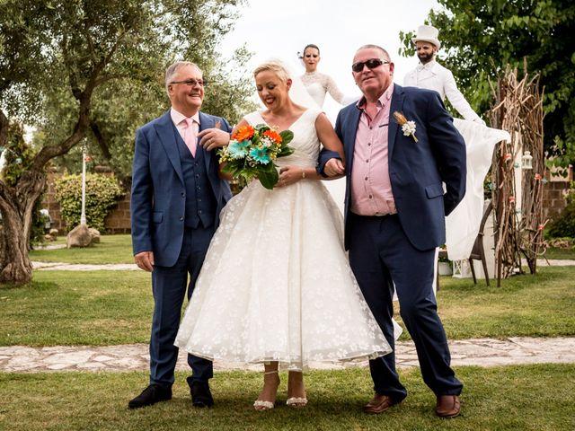 Il matrimonio di Daniele e Louise a Amelia, Terni 77