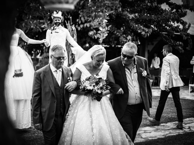 Il matrimonio di Daniele e Louise a Amelia, Terni 79