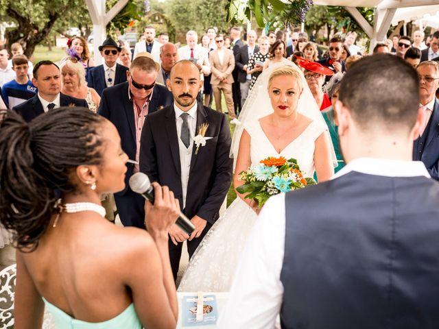 Il matrimonio di Daniele e Louise a Amelia, Terni 87