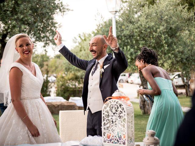 Il matrimonio di Daniele e Louise a Amelia, Terni 103