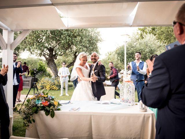 Il matrimonio di Daniele e Louise a Amelia, Terni 106