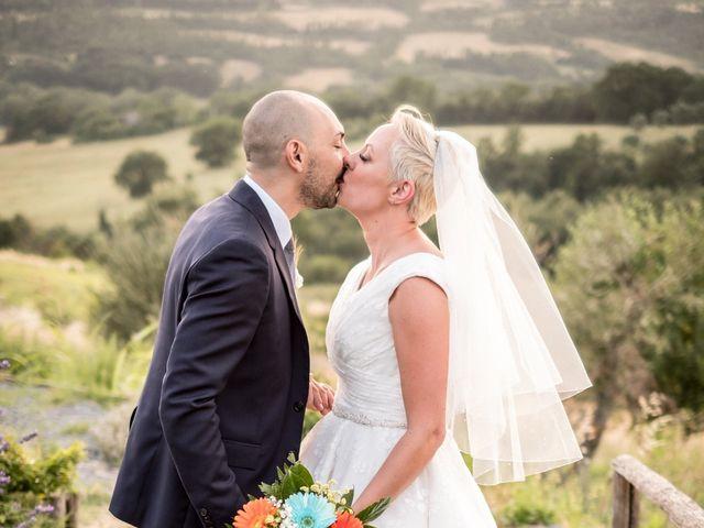 Il matrimonio di Daniele e Louise a Amelia, Terni 107