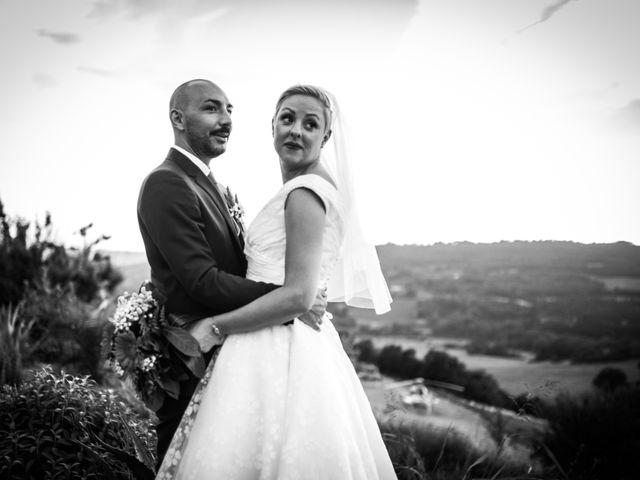 Il matrimonio di Daniele e Louise a Amelia, Terni 109