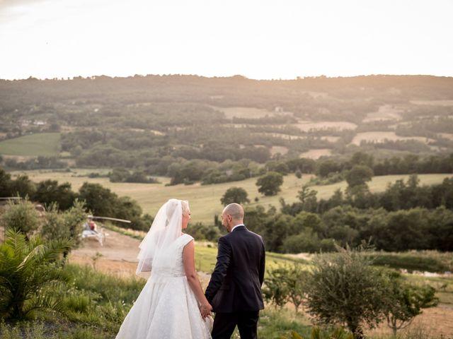 Il matrimonio di Daniele e Louise a Amelia, Terni 114