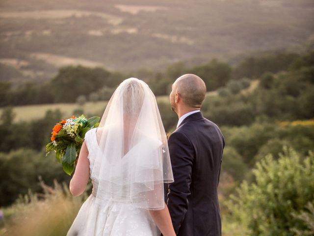 Il matrimonio di Daniele e Louise a Amelia, Terni 117