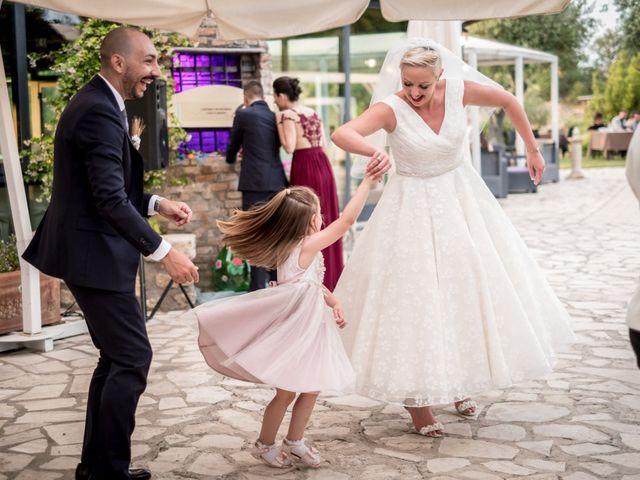 Il matrimonio di Daniele e Louise a Amelia, Terni 130
