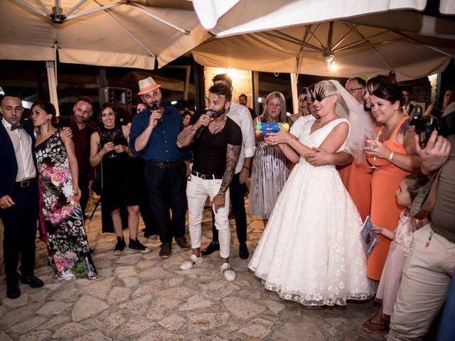 Il matrimonio di Daniele e Louise a Amelia, Terni 149