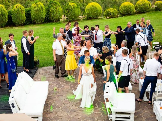 Il matrimonio di Janina e Michael a Orvieto, Terni 78