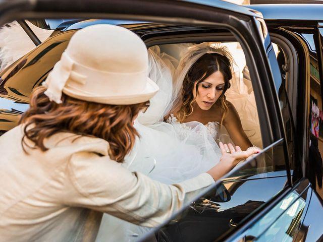 Il matrimonio di Andrea e Ornella a Tuscania, Viterbo 12