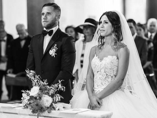 Il matrimonio di Andrea e Ornella a Tuscania, Viterbo 14