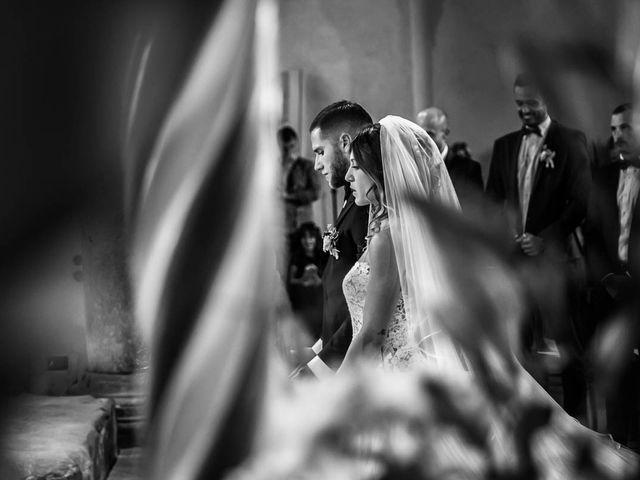 Il matrimonio di Andrea e Ornella a Tuscania, Viterbo 16
