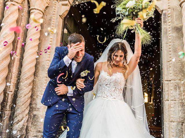 Il matrimonio di Andrea e Ornella a Tuscania, Viterbo 2