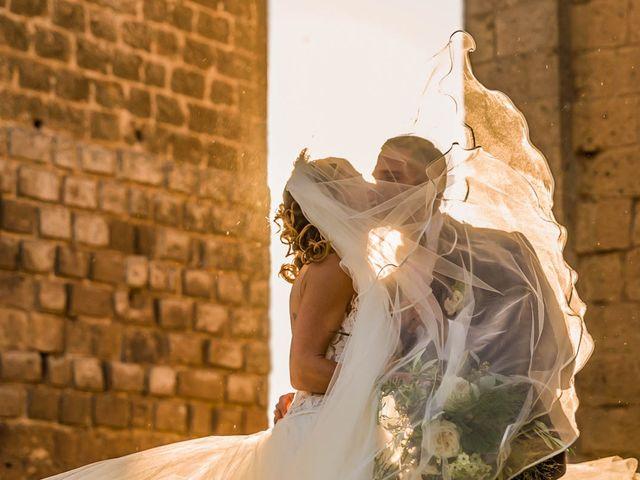 Il matrimonio di Andrea e Ornella a Tuscania, Viterbo 3