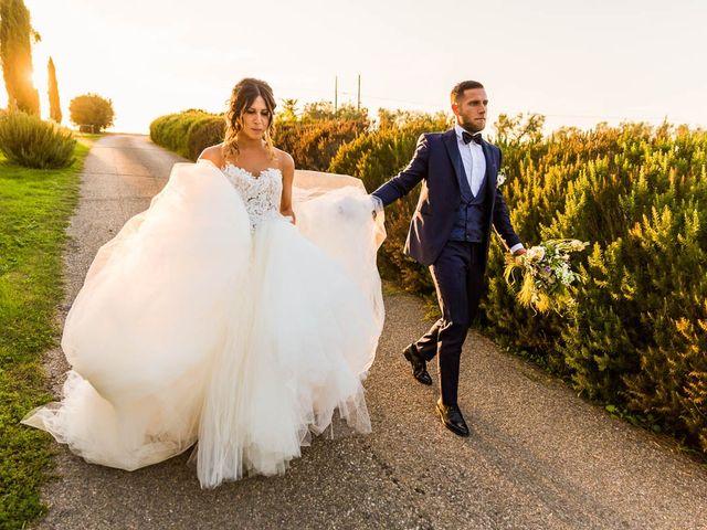 Il matrimonio di Andrea e Ornella a Tuscania, Viterbo 25
